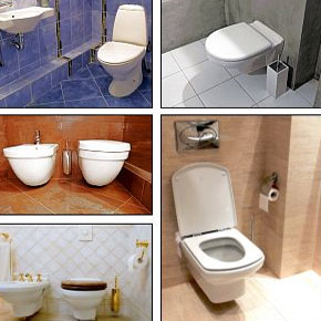 Types Of Toilet Basin